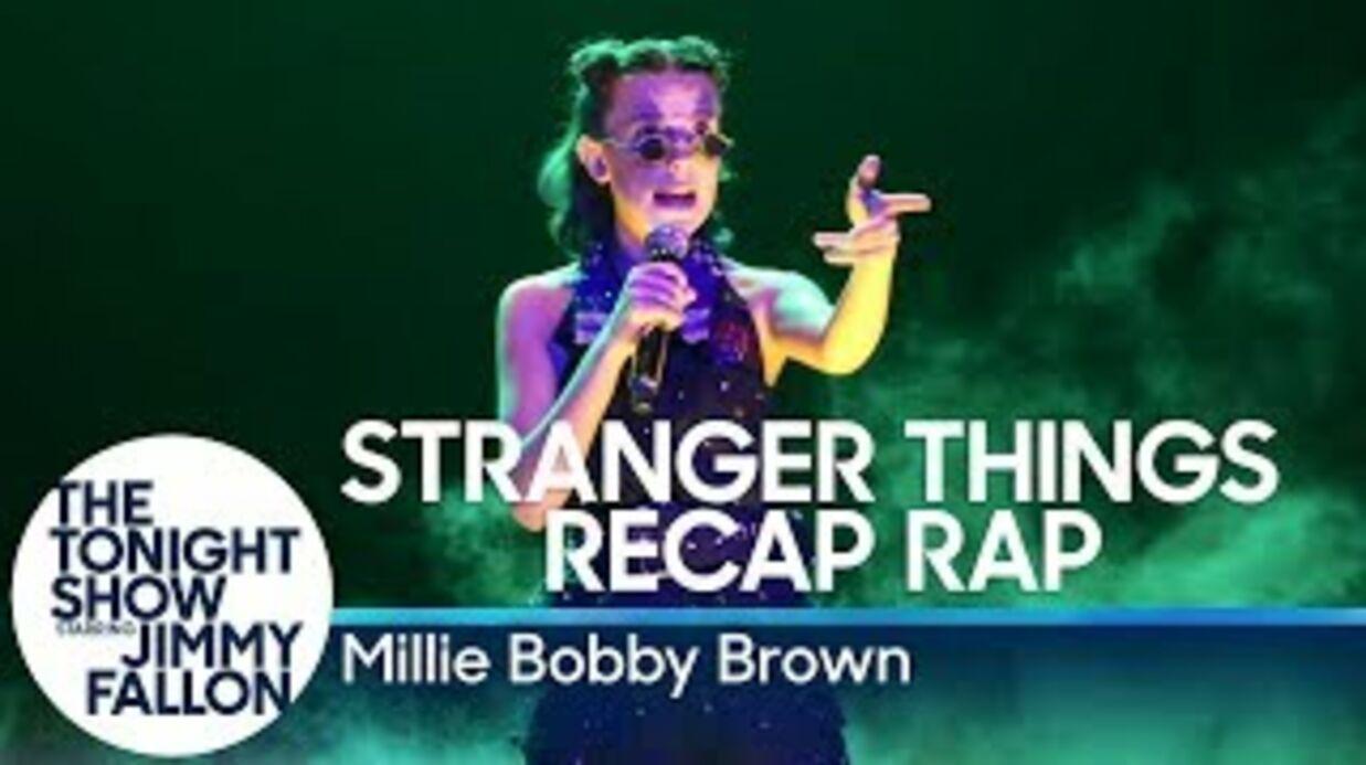 Millie Bobby Brown (Stranger Things): son rap très réussi pour résumer la saison 1