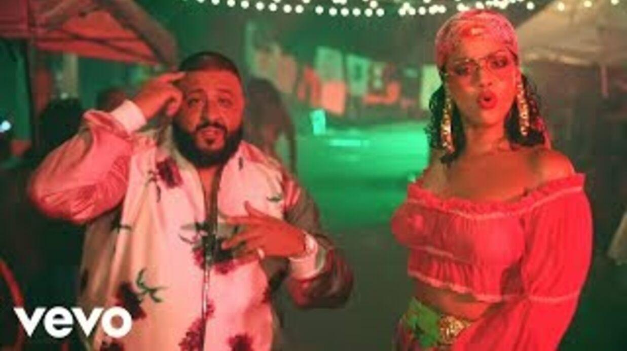 VIDEO Rihanna en tops totalement transparents dans le clip de son tube de l'été