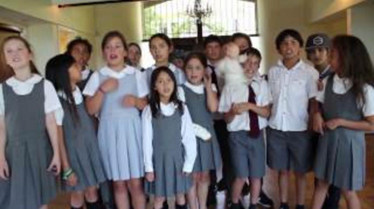VIDEO Découvrez les débuts de Jade Hallyday dans la chanson