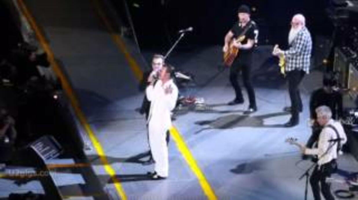 VIDEO Eagles of Death Metal: le groupe rejoint U2 sur scène à Paris après les attentats du 13 novembre