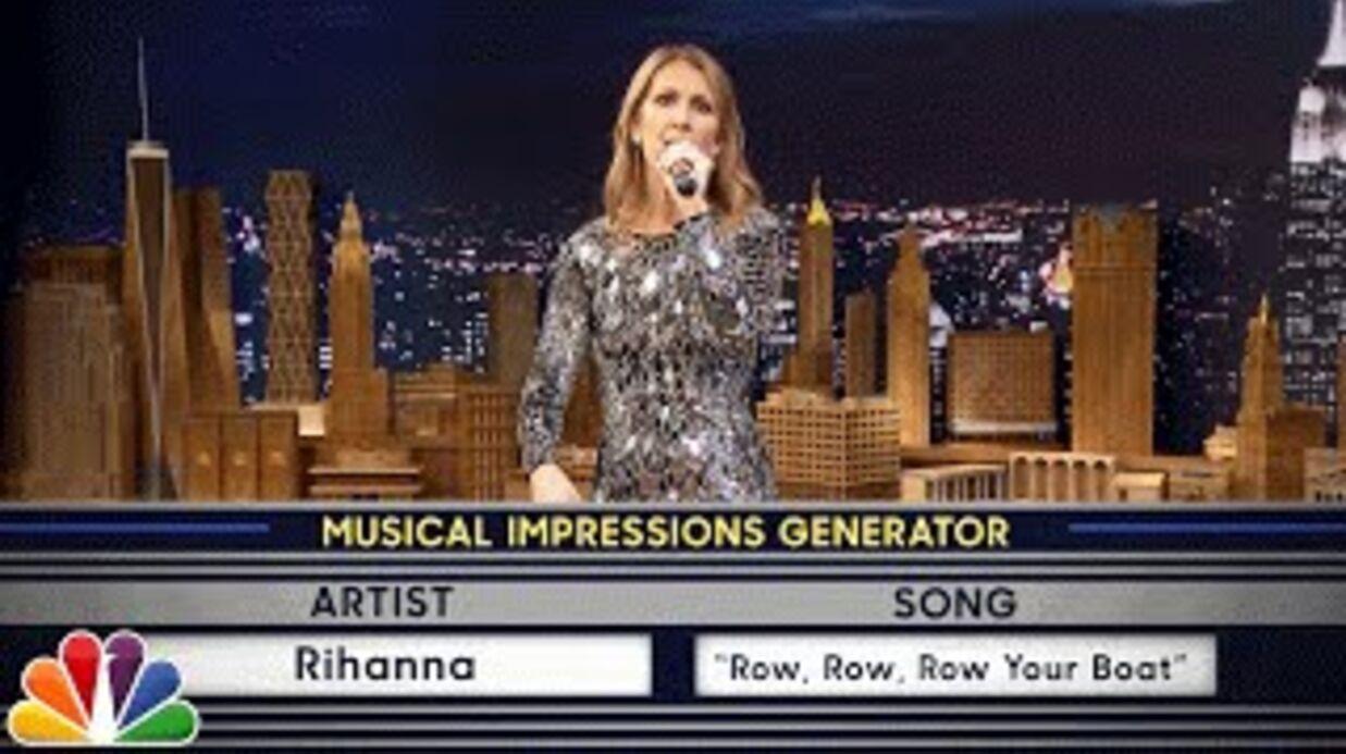 VIDEO Céline Dion imite Rihanna et plein d'autres stars et c'est très drôle