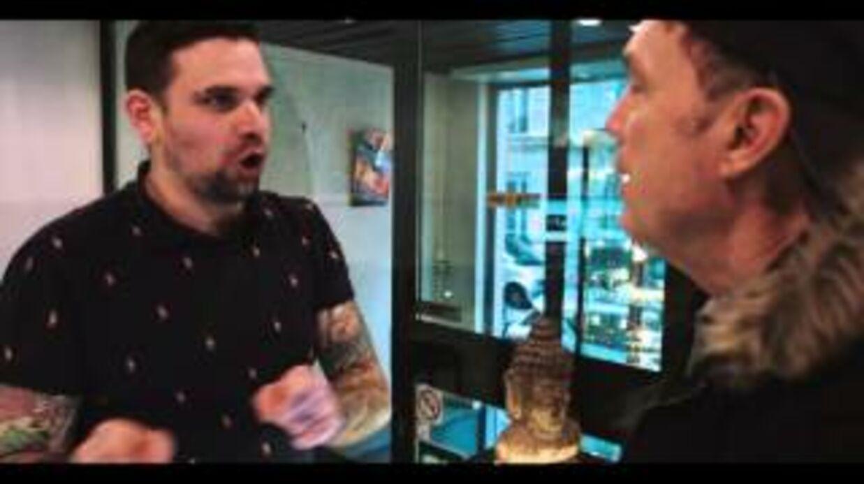 VIDEO Un homme se fait tatouer le portrait de Julien Lepers sur la fesse, l'animateur découvre le résultat