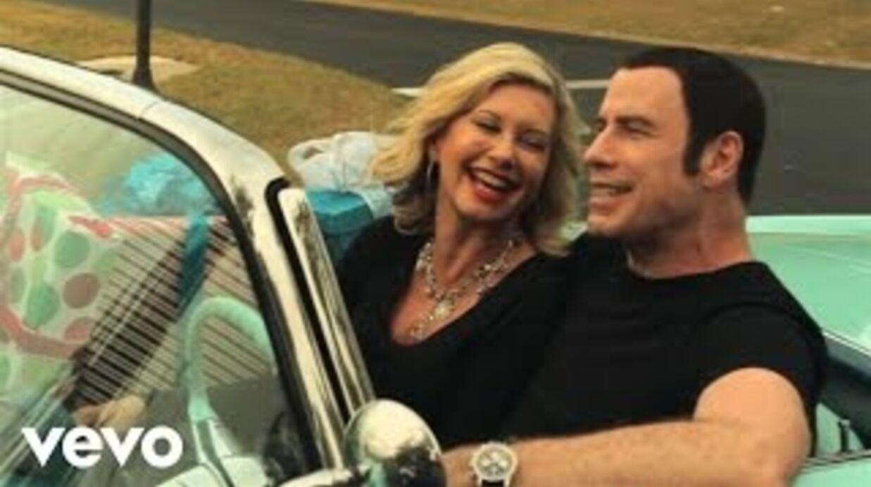 VIDEO John Travolta et Olivia Newton-John en duo dans un clip kitsch