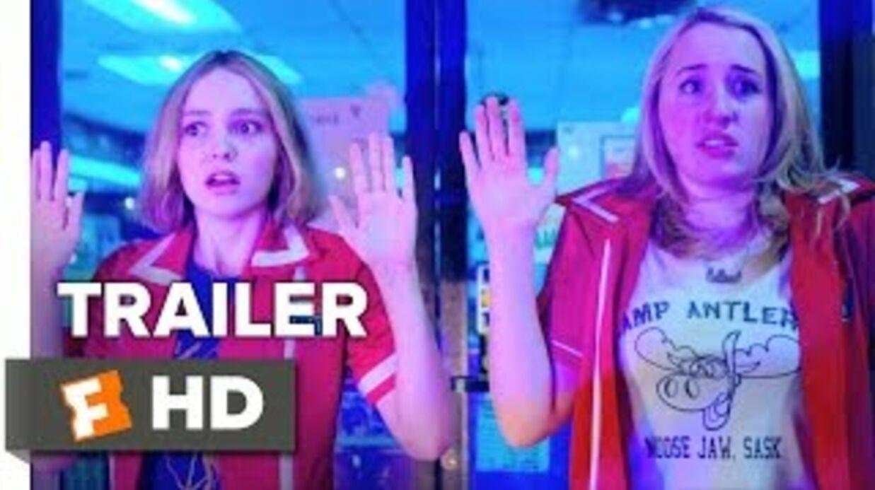 VIDEO Johnny Depp, Vanessa Paradis et leur fille Lily-Rose réunis dans la bande-annonce de Yoga Hosers