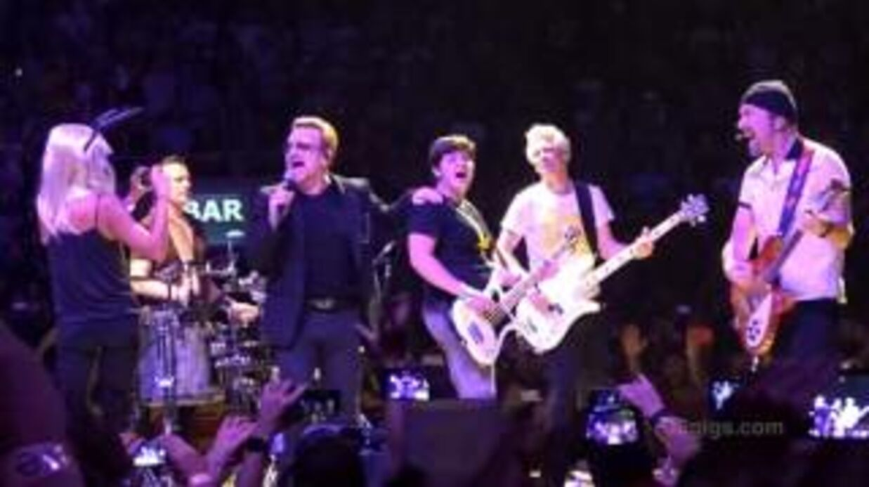 VIDEO Javier Bardem et Penélope Cruz s'incrustent sur scène en plein concert de U2