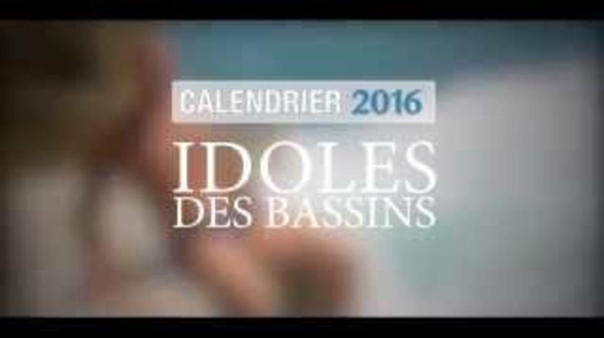 VIDEO Florent Manaudou, Camille Lacourt, Frédérick Bousquet: leur calendrier sexy