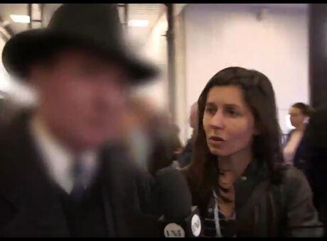 Vidéo Un militant de Fillon dérape face à une journaliste: