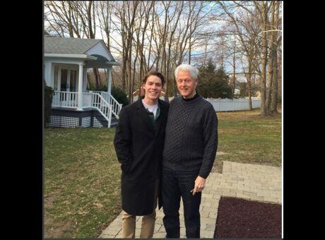 Dynastie Hé oui, il y a un top model chez les Clinton! (Photos)