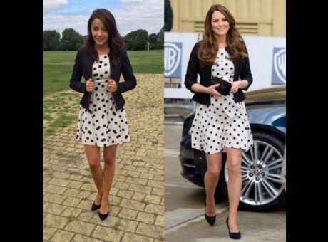 Insolite Elle s'habille comme Kate Middleton, mais en moins cher (Photos)