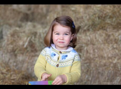 Royauté Une nouvelle photo craquante de la princesse Charlotte