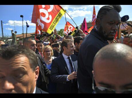 Macron Que va devenir Makao, le garde du corps devenu star malgré lui?