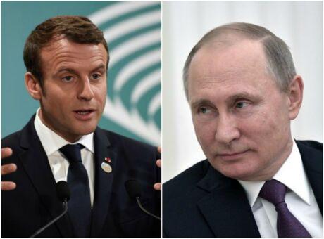 Macron-Poutine Une rencontre sous haute tension