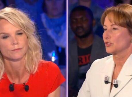 ONPC Rude accrochage entre Ségolène Royal et Vanessa Burggraf (vidéo)