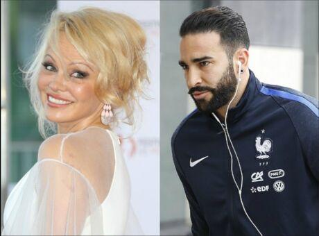 Indiscret Après Julian Assange, Pamela Anderson fricote avec… Adil Rami!