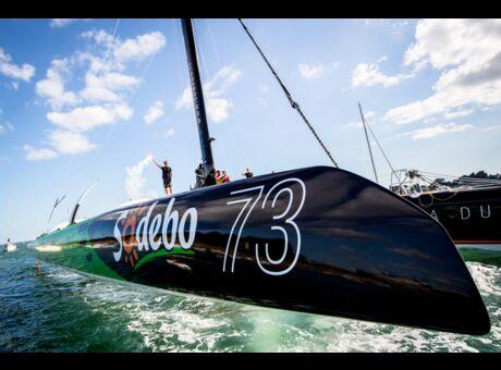 Exploit Thomas Coville nous raconte sa traversée de l'Atlantique en solitaire (vidéos)