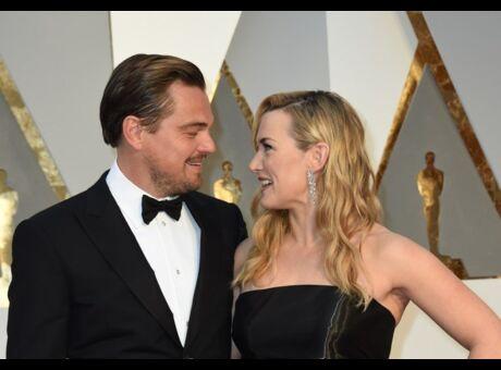 Photo Kate Winslet et Leonardo DiCaprio très proches à Saint-Tropez