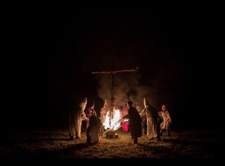 Etats-Unis Le Ku Klux Klan dopé par Donald Trump (photos)
