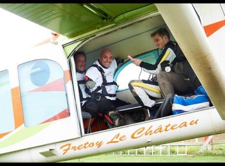 Exclusif Philippe Croizon saute en parachute: «C'est un trip monumental, très violent!»