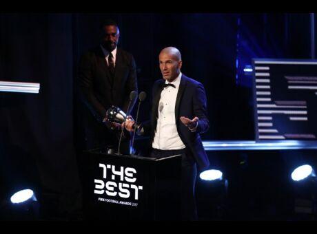 Zidane désigné meilleur entraineur de l'année