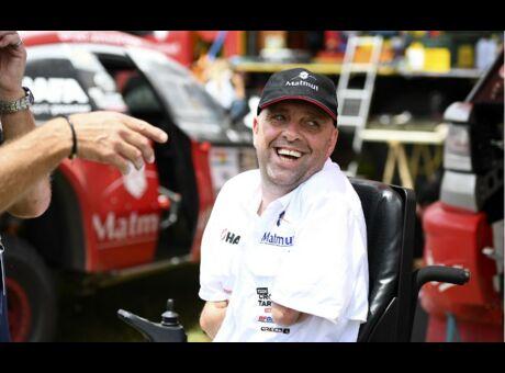 Exclusif Philippe Croizon: «J'aimerais refaire le Dakar»