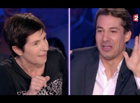 ONPC Jérémy Ferrari conseille à Christine Angot de prendre du Xanax