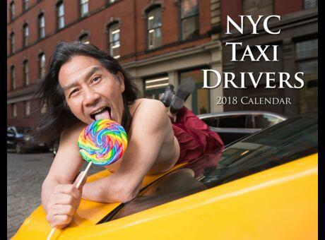 Diaporama Le calendrier hot et délirant des taxis New-Yorkais
