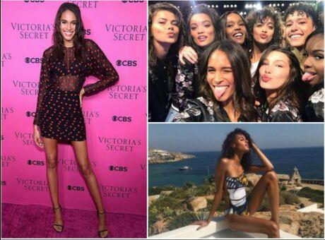 Diaporama Qui est Cindy Bruna, le sublime ange français de Victoria's Secret?
