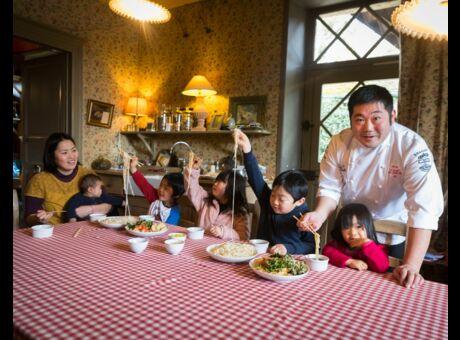 Reportage A table avec Takashi Kinoshita, promu par le Michelin